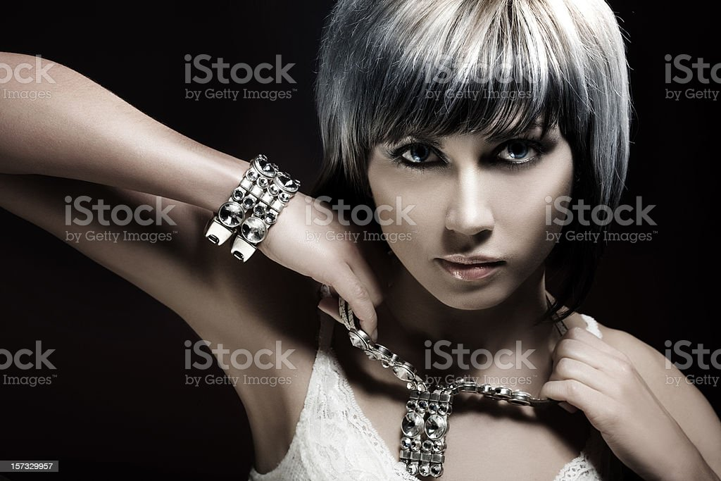 tight necklace royalty-free stock photo