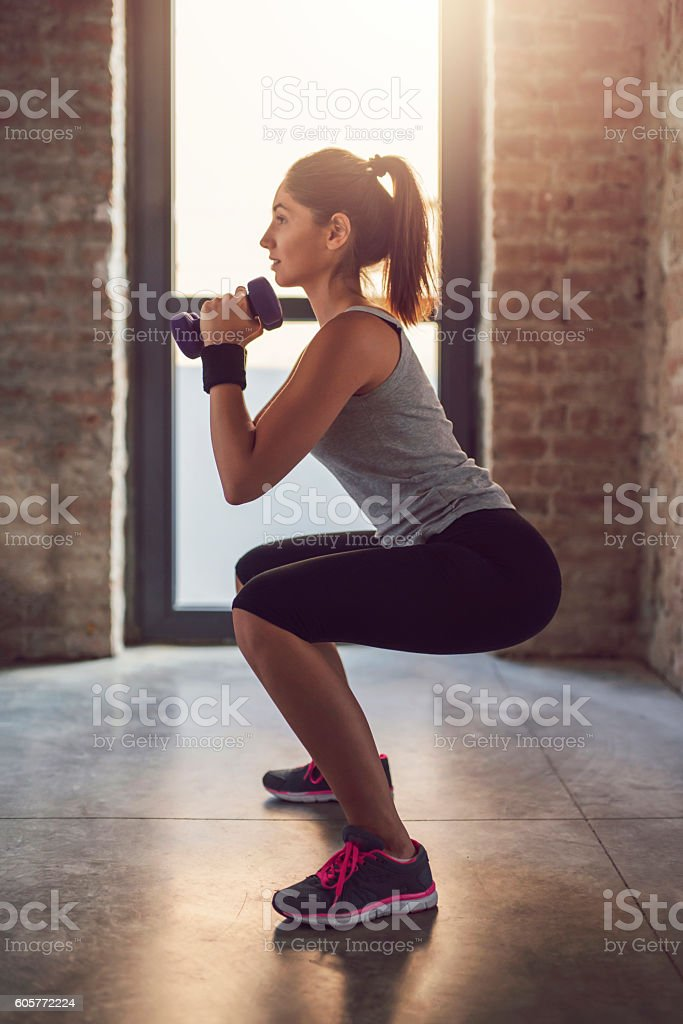 Tight + Toned stock photo
