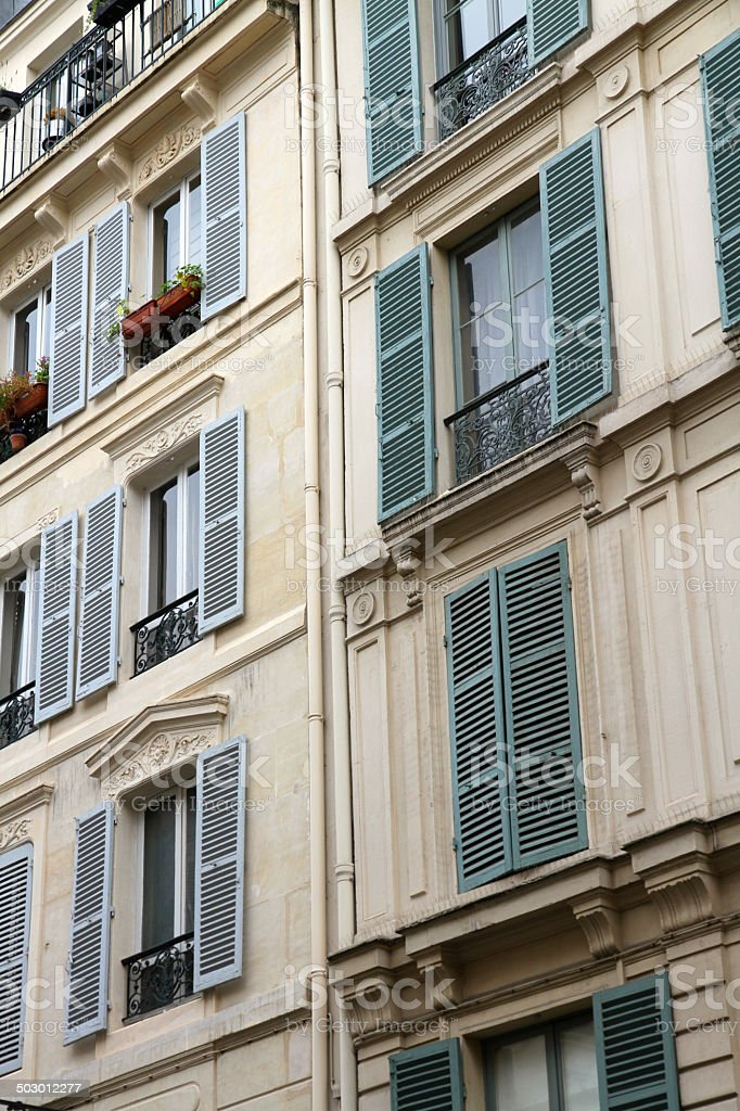 Tightly Packed Homes royalty-free stock photo