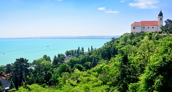 Tihany Abbey Hungary Stock Photo - Download Image Now