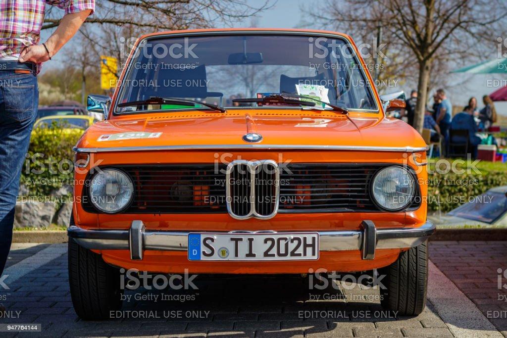 Bmw 2002 Tii Touring Vehiculo Antiguo Foto De Stock Y Mas Banco De Imagenes De 2002 Istock