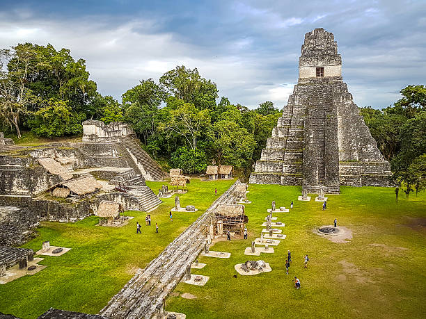 Tikal, Guatemala stock photo