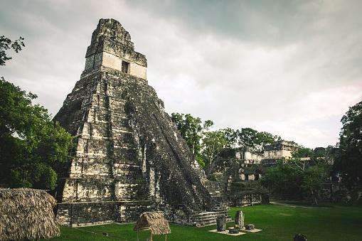 istock Tikal ruins, Guatemala 919016618