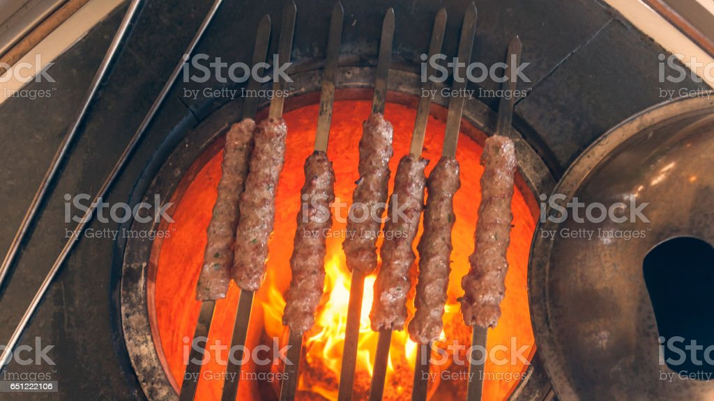 Tikka Kabab. stock photo