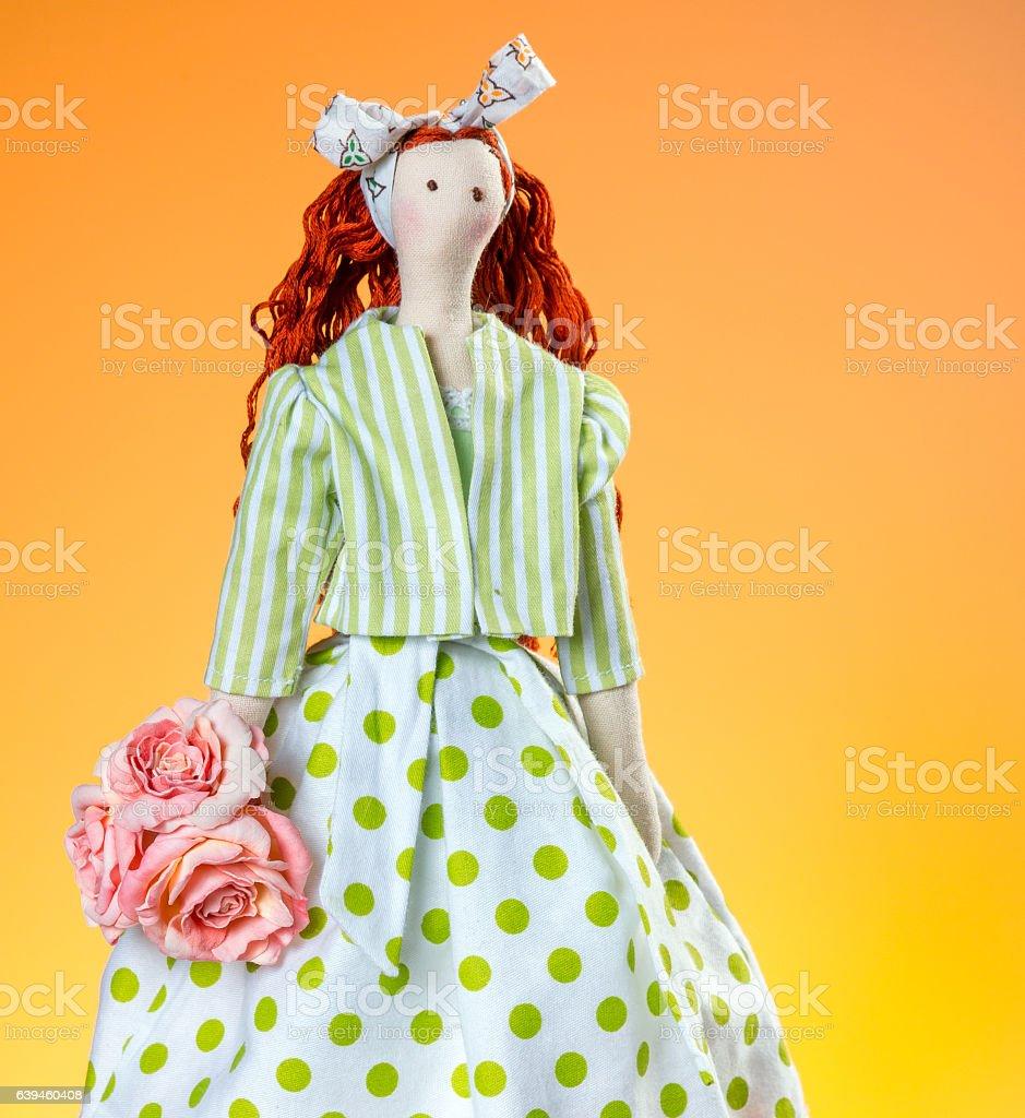 Tilda Doll French Girl - foto de acervo