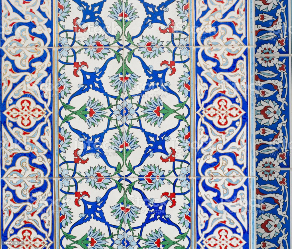 Tile And Ceramic Of Ottoman Style Stock Photo & More Pictures of ...