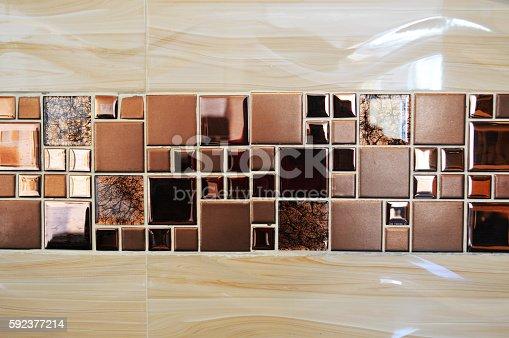 905087856istockphoto Tile decoration in walls indoor 592377214