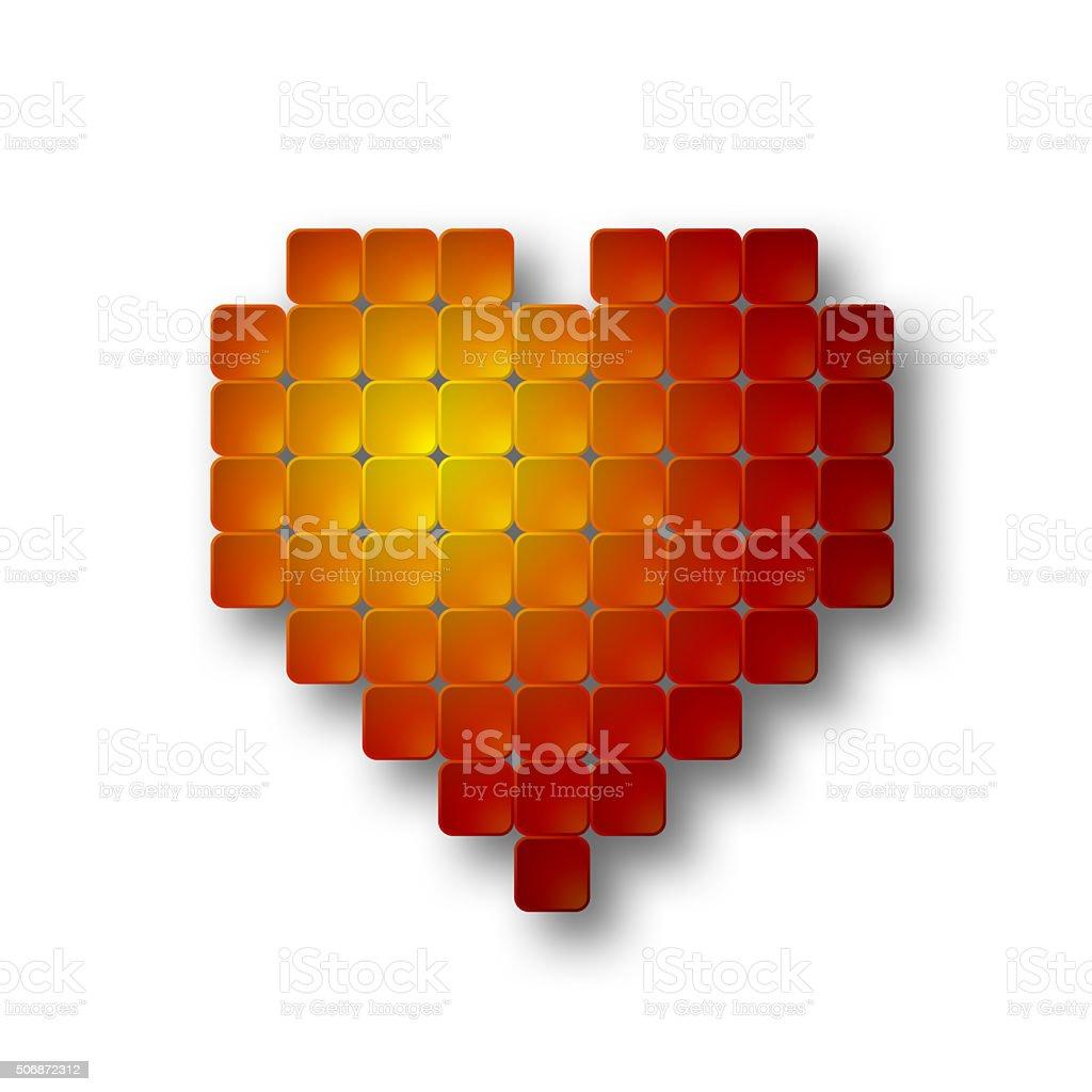 Placa de coração - foto de acervo