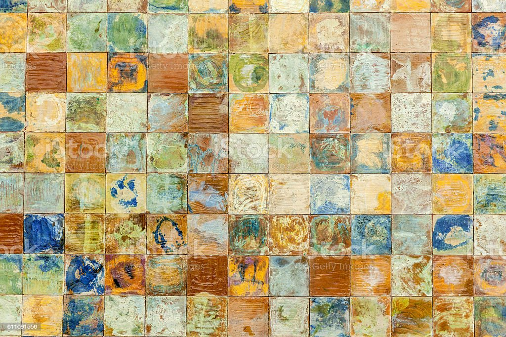 Tile panel stock photo