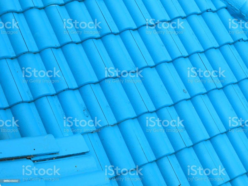 tegel dak textuur achtergrond - Royalty-free Architectuur Stockfoto