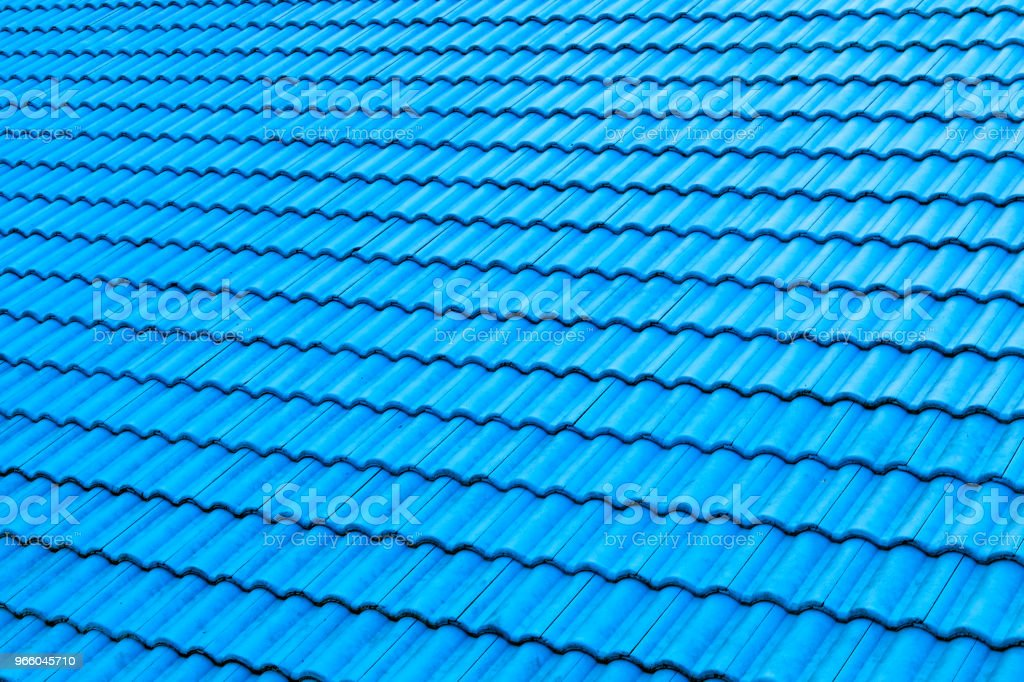 tile roof texture background - Royalty-free Architecture Stock Photo
