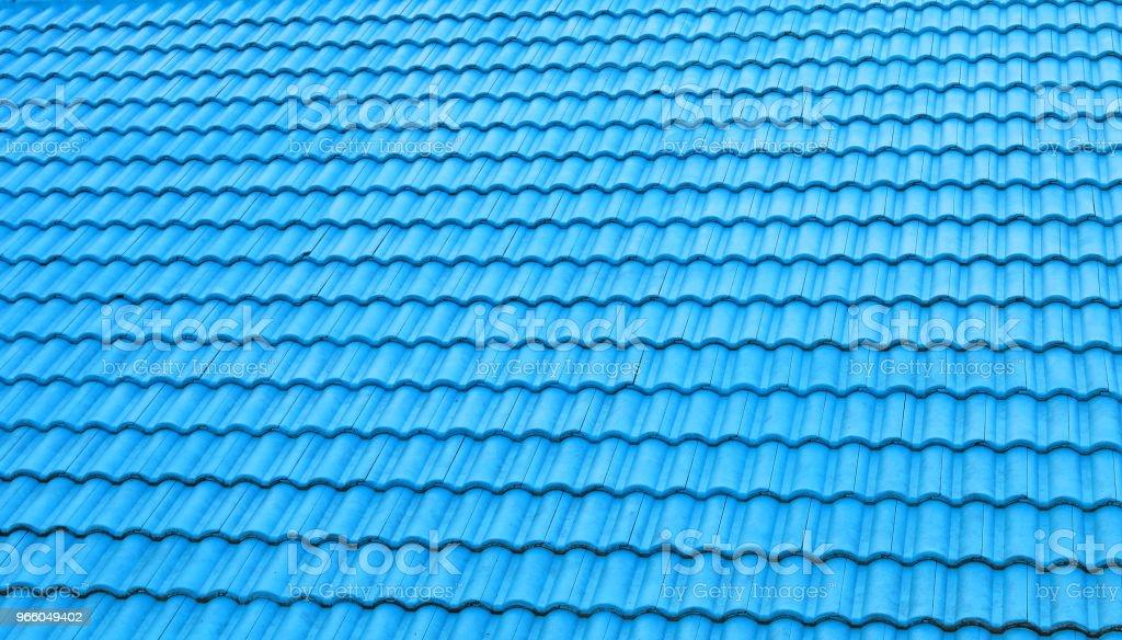 Ziegel Dach Textur Hintergrund - Lizenzfrei Architektur Stock-Foto