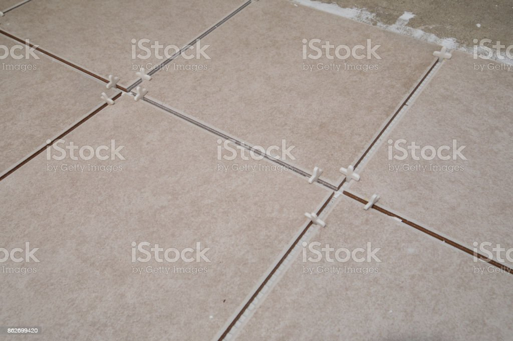 Tile Spacers stock photo