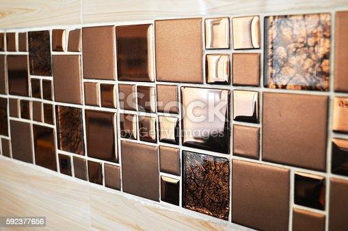 905087856istockphoto Tile wall decoration 592377656