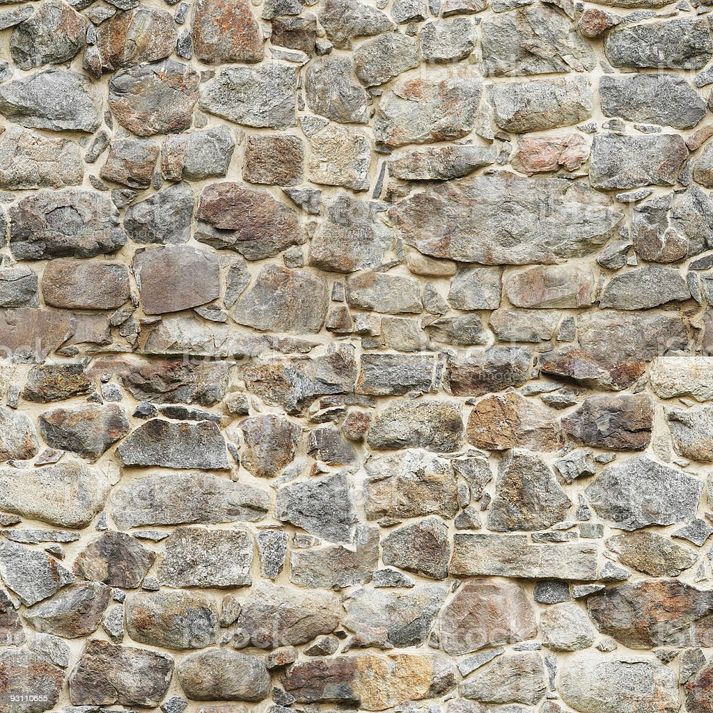Tileable castle wall - Royalty-free Arka planlar Stok görsel