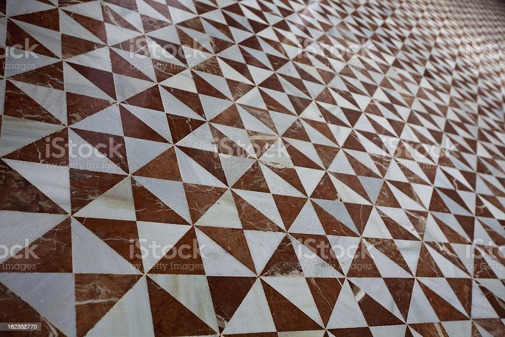 tiled floor royalty-free stock photo