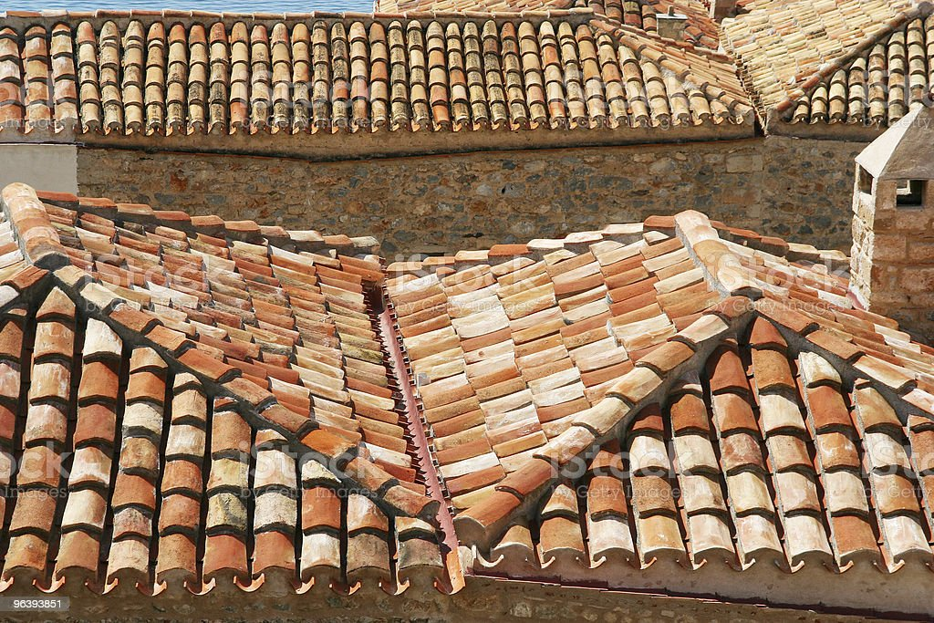 Tiled Roofs - Royalty-free Architecture Stock Photo