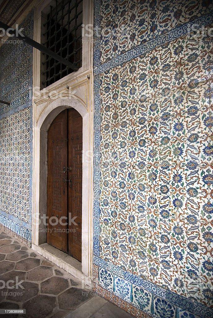 Tiled walls royalty-free stock photo