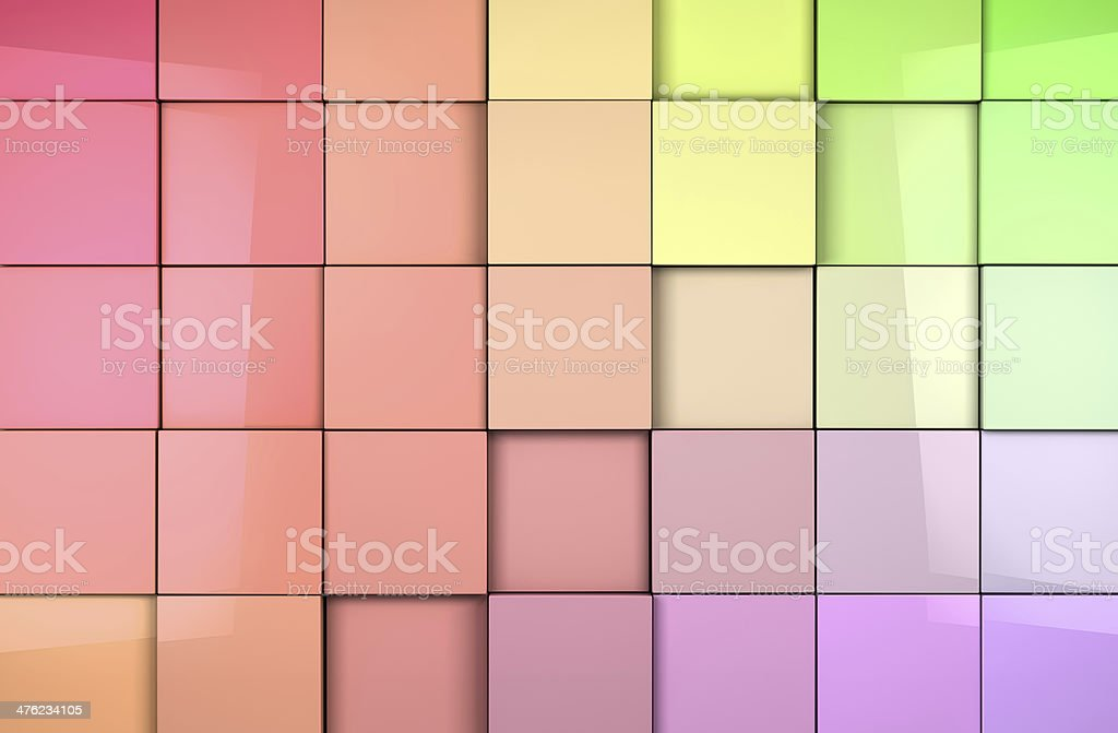tiles cubes background royalty-free stock photo