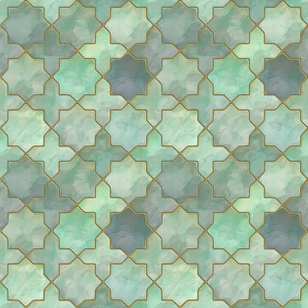 tiles - mother of pearl stock photos and pictures