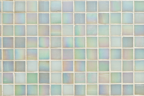 tiles textures: multicoloured mosaic - mother of pearl stock photos and pictures
