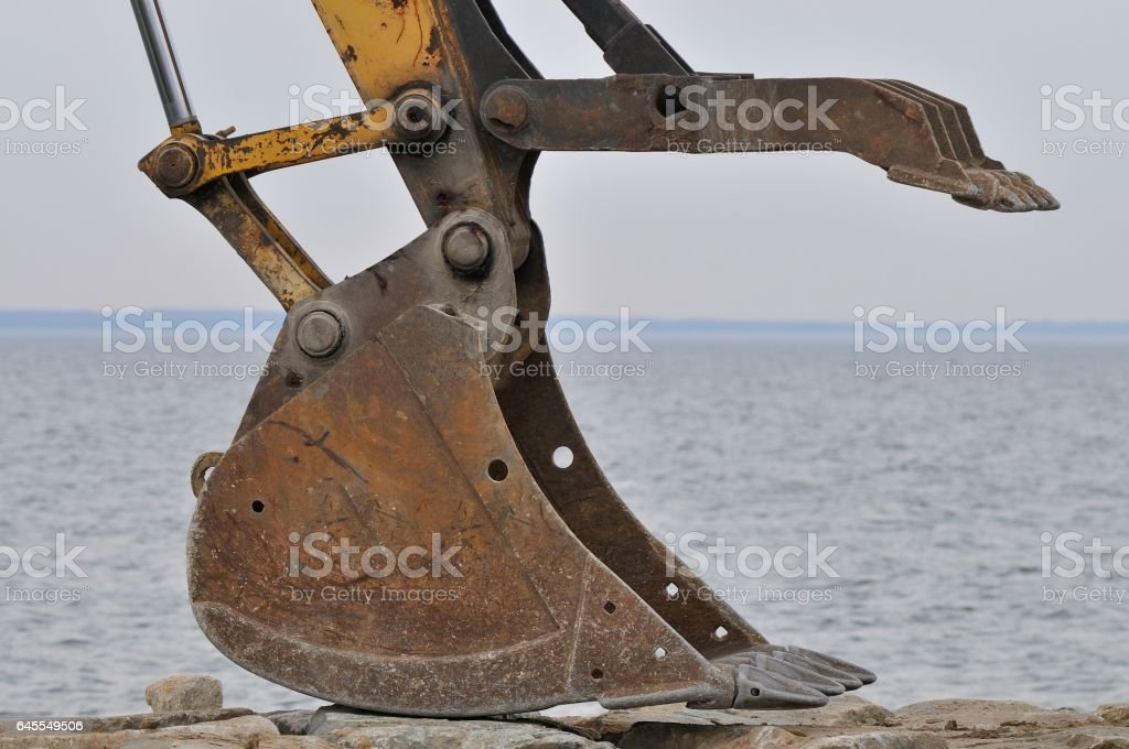 Tilghman Island RipRap Scraper Pincer stock photo