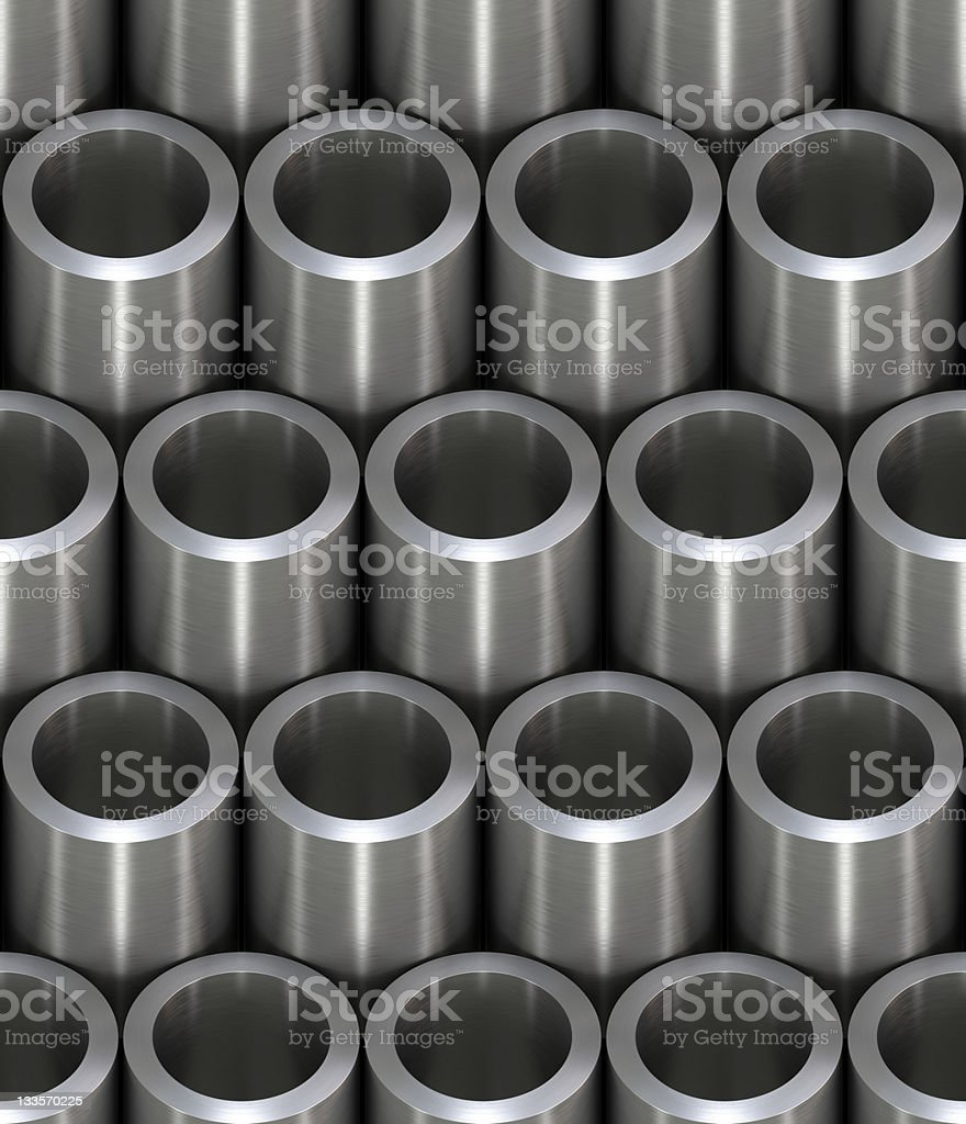 Tiling texture – pipe royalty-free stock photo