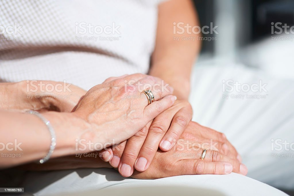 Till death do them part royalty-free stock photo