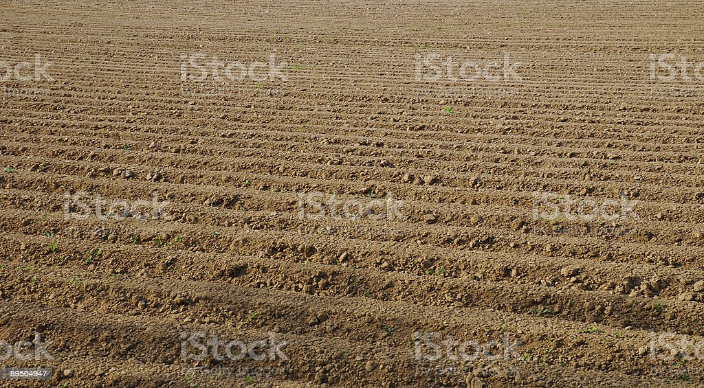 tillage brown background royalty-free stock photo