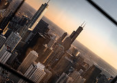 istock Tilted In Chicago 1141278392