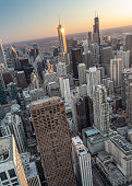 istock Tilted In Chicago 1141278529