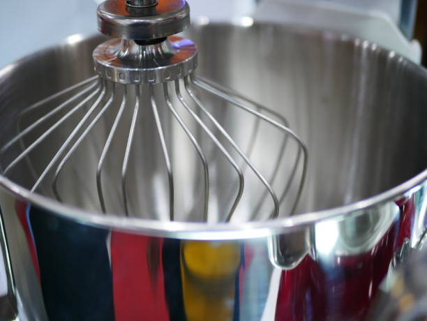 Tilt-Head Stand Mixer Robot, Dough, Bread, Food, Power Line electric mixer stock pictures, royalty-free photos & images