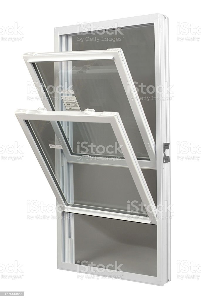 Tilt-In Replacement Window stock photo