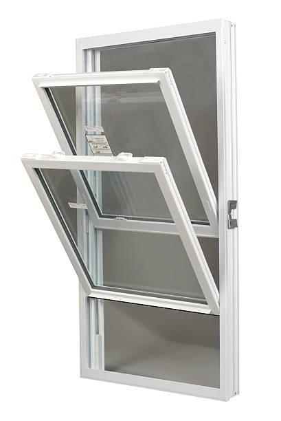 Tilt-In Replacement Window stock photo