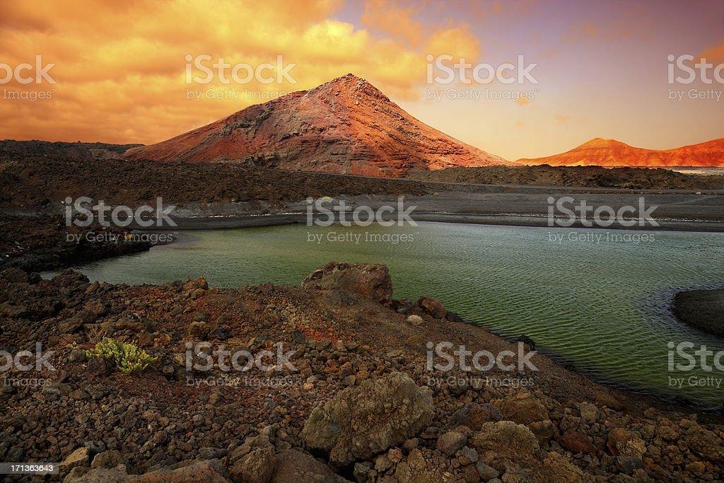 Timanfaya National Park auf der Insel Lanzarote, Spanien – Foto