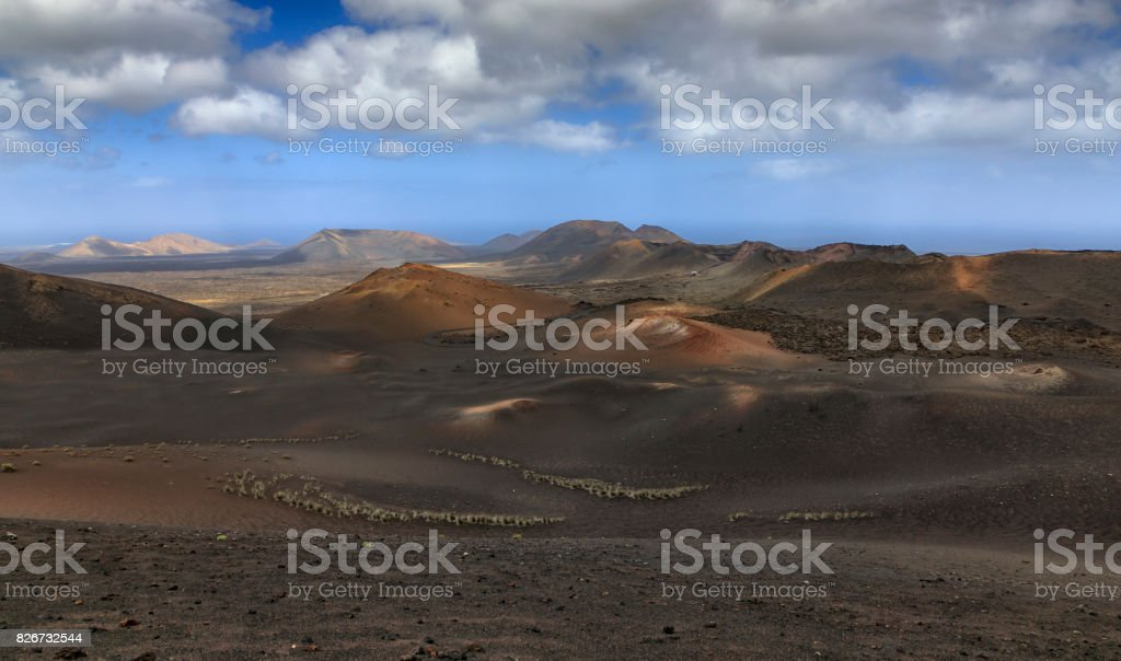 Timanfaya National Park stock photo