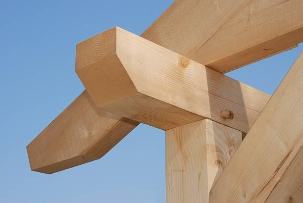 Bauholz-frame-Konstruktion – Foto