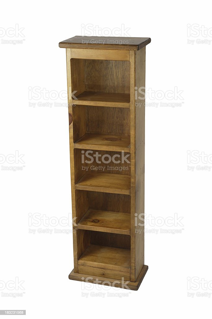 Timber Shelving Unit Stock Photo Download Image Now Istock