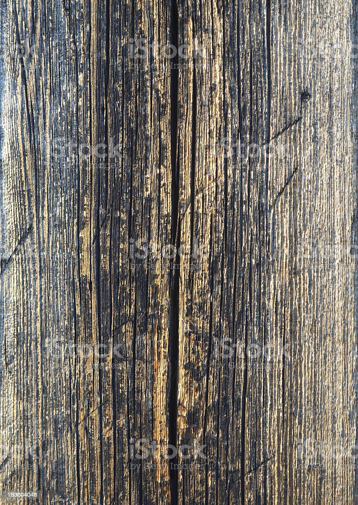 Timbered wall royalty-free stock photo