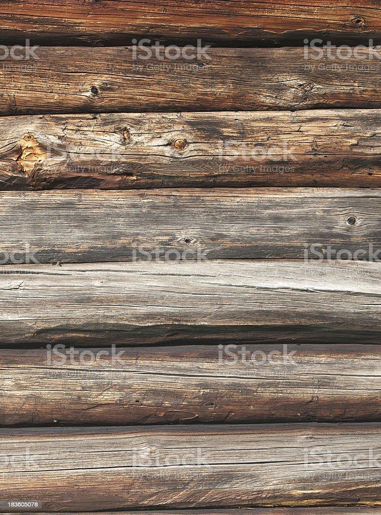 Timbered wall royalty-free stock photo