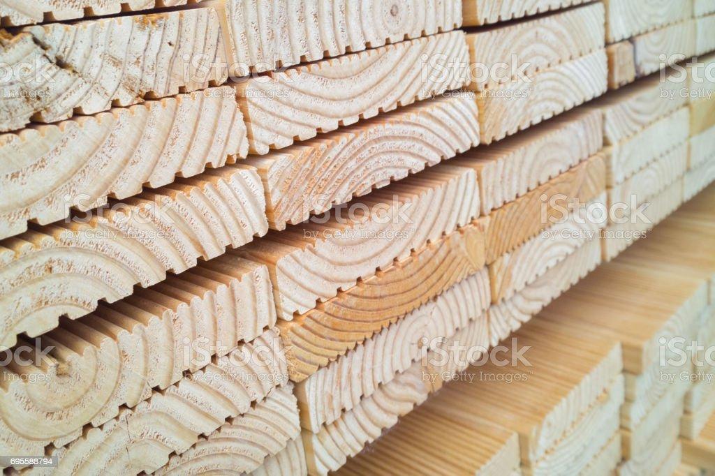 timberyard stock photo