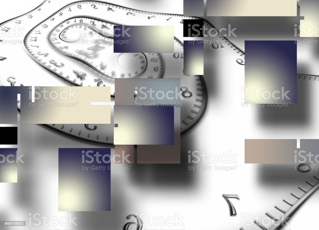 Time Abstract stock photo