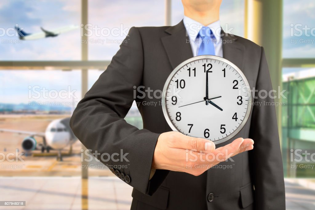 Time and business! stock photo