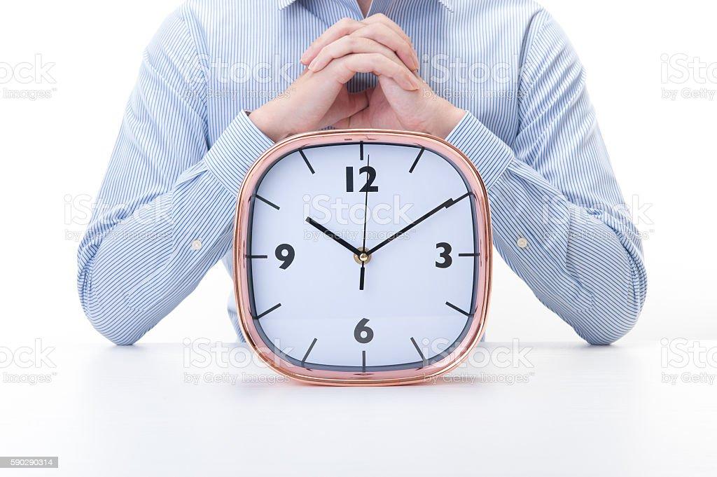Time and men royaltyfri bildbanksbilder