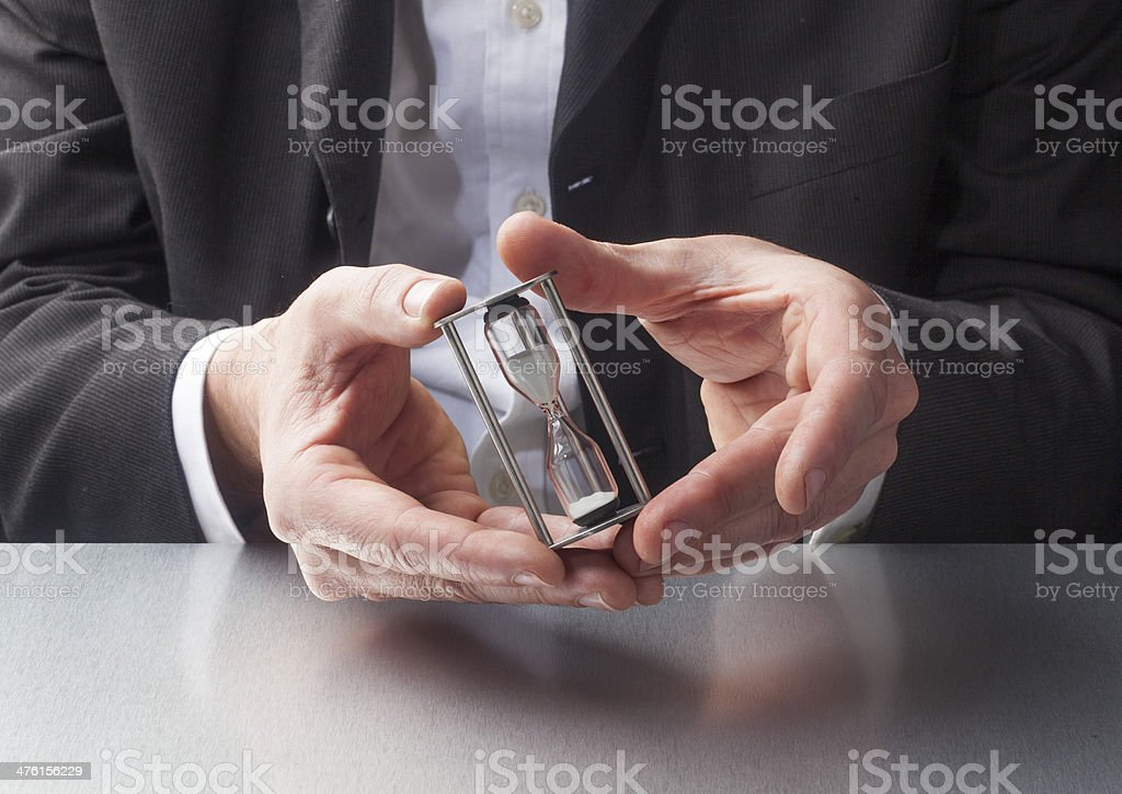 time and pressure questions royalty-free stock photo