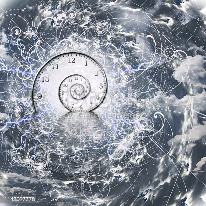 istock Time and Quantum Physics 1143027778