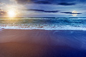 istock time change above sandy beach and turquoise sea 1226444561