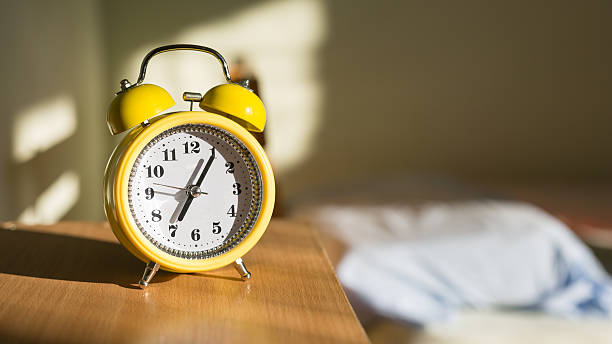 time clock - alarm clock stock photos and pictures