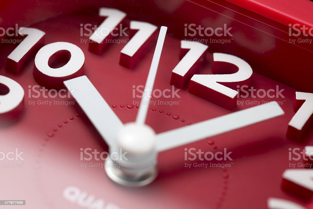 Time clock - Stock Image royalty-free stock photo