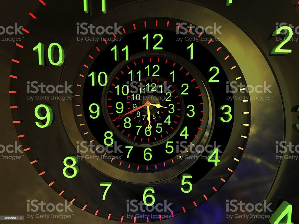 Time concept. stock photo